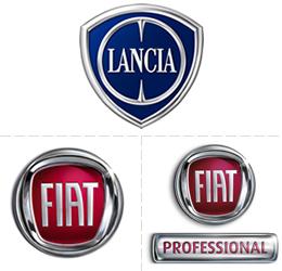 Loghi Fiat, Fiat Professionale e Lancia